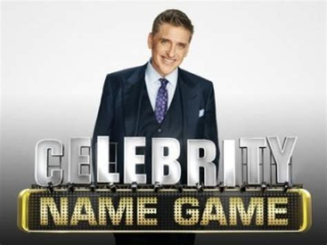 celebrity game shows on tv celebrity name game season 2 air dates countdown
