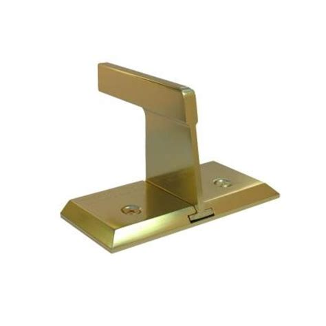 nightlock bright brass sliding patio door security lock