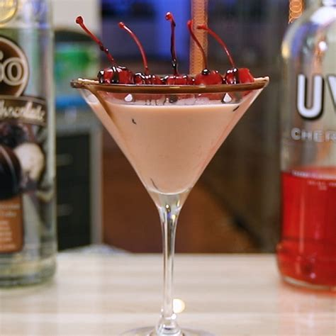 martini cherry cherry chocolate martini
