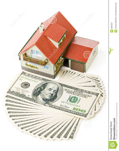 home design free money miniature house and money royalty free stock photography