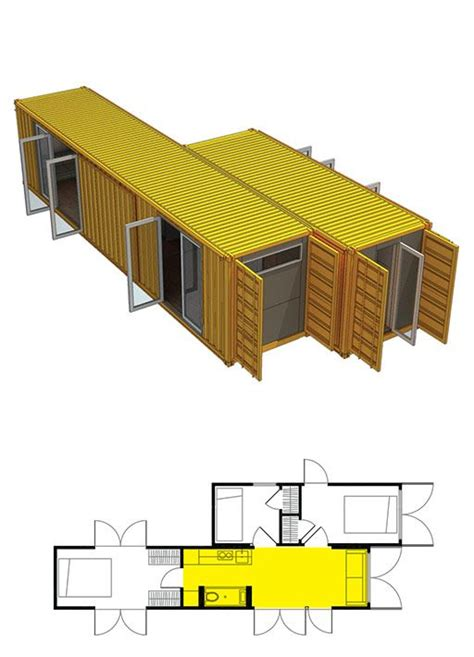 Barn Apartment Floor Plans Montainer Makes Shipping Container Architecture Easy