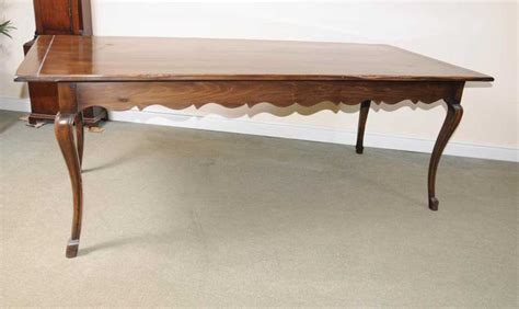 Farmhouse Furniture by Cherry Wood Refectory Dining Table Farmhouse Furniture