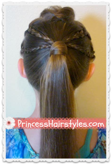 quick and easy edgy hairstyles double braided edgy ponytail hairstyle hairstyles for