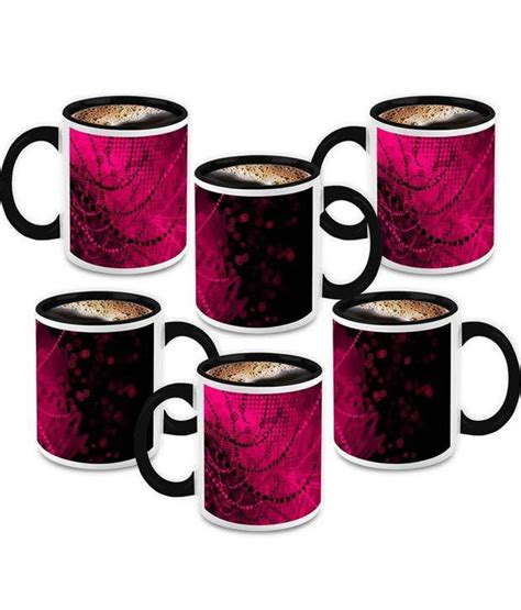 fancy coffee mugs homesogood my fancy cup ceramic coffee mug 6 mugs buy