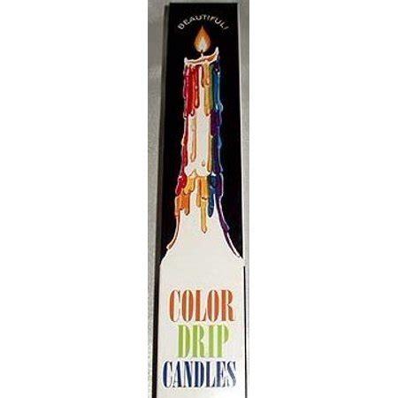 color drip candles color drip candles walmart