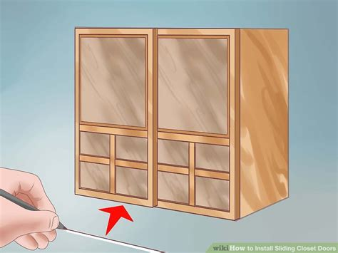 8 Sliding Closet Doors How To Install Sliding Closet Doors 11 Steps With Pictures