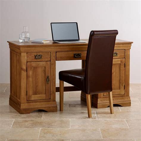Oak Furniture Computer Desk Farmhouse Computer Desk Solid Oak Oak Furniture Land