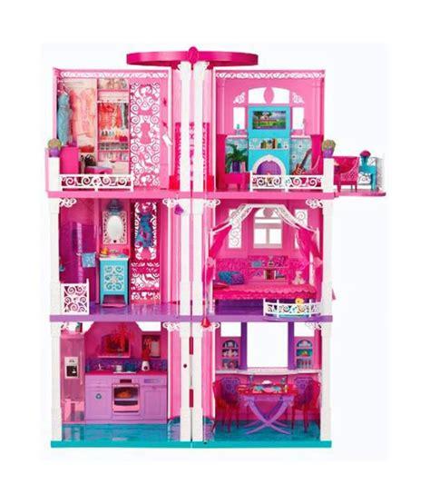 mattel barbie doll house mattel barbie dream house doll house imported toys buy mattel barbie dream house