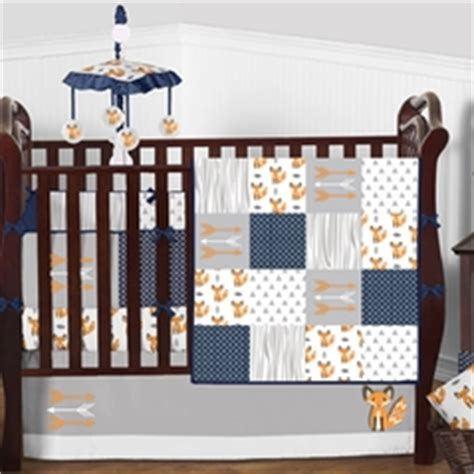 Solid Color Crib Bedding In Pink Blue More Orange And White Crib Bedding