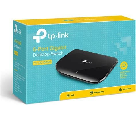 Switch 5 Port Tplink buy tp link tl sg1005d network switch 5 port free delivery currys