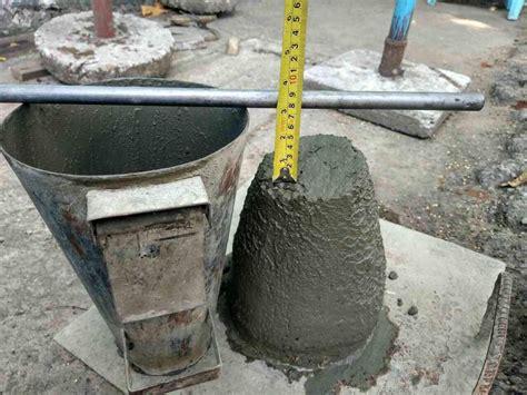 Slump Test concrete slump test procedure advantages and limitations