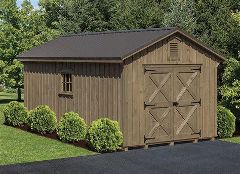 heavy duty board batten sheds  barn raiser