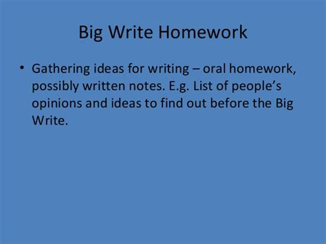 business letter brainpop big write homework