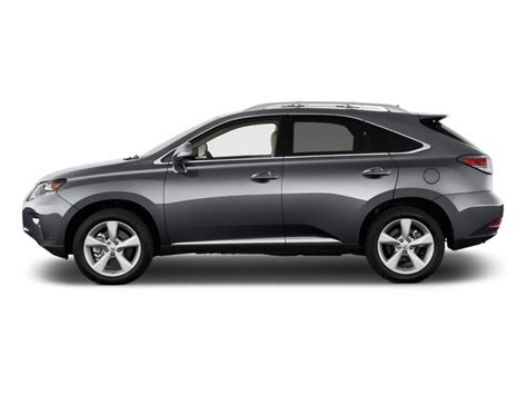 image 2015 lexus rx 350 fwd 4 door side exterior view