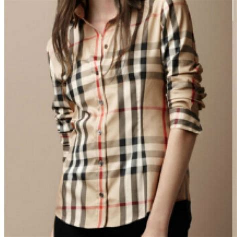 5 Button Shirts To Complete Your Closet by 54 Tops Plaid Burberry Inspired Button Up Shirt