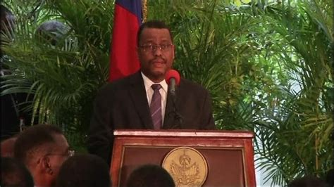 The Prime Minister And His Cabinet Are Controlled By by Haiti S New Prime Minister And Cabinet Are Sworn In News