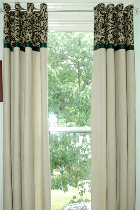 drop cloth canvas curtains canvas drop cloth curtains decorating ideas pinterest