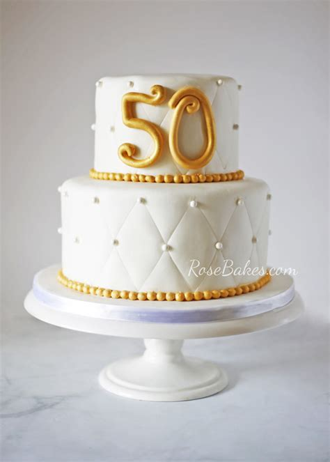 50th Wedding Anniversary Cakes by 50th Wedding Anniversary Cake Bakes