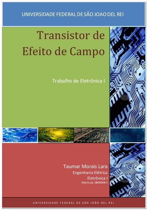 transistor fet de junção transistor fet