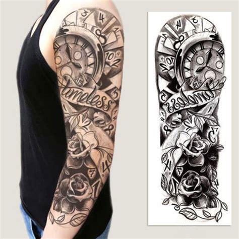 body tattoo stickers uk graphic temporary tattoo sticker full arm sticker diy body