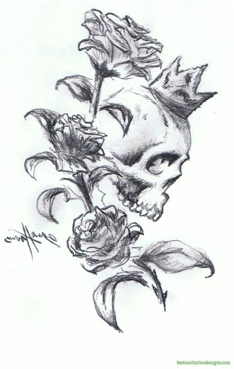 skull head tattoos designs skull designs