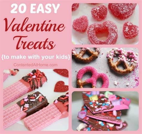 easy to make treats 20 easy recipes for contented at home