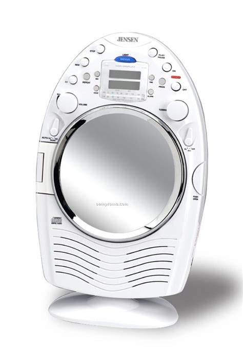 Bathroom Radio Mp3 Player Am Fm Stereo Shower Radio Cd Player W Fog Resistant