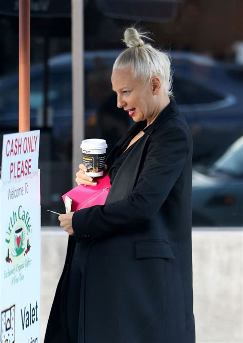 Brook Out Shopping In Kingston 01 07 2016 by Sia Furler Out For Coffee In Los Angeles 01 07 2016