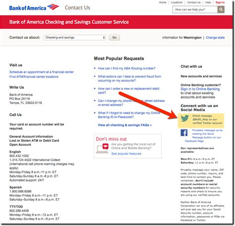 bank adress customer service ux bank of america encourages social