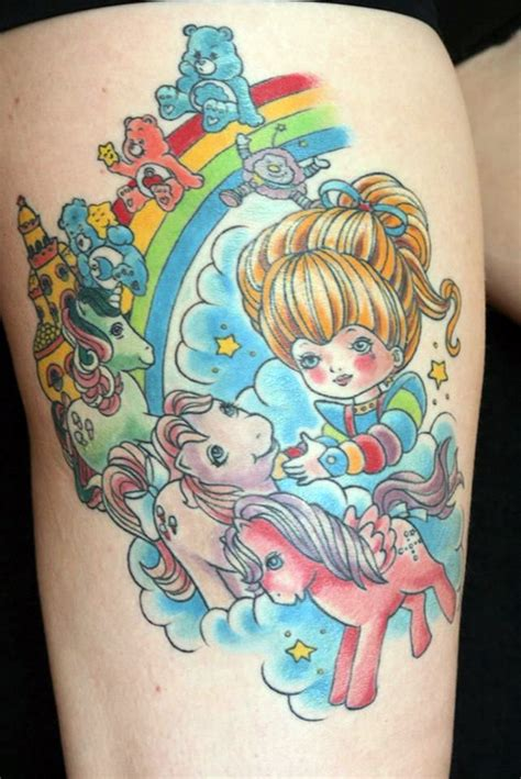 80s tattoos 18 outstanding 80s themed tattoos that to be seen to