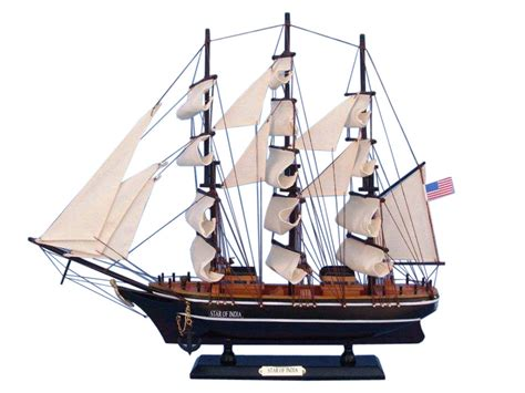 buy a boat india buy wooden star of india tall model ship 20 inch model