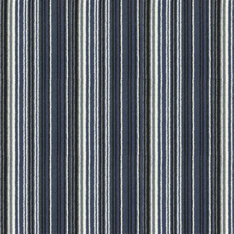 Crucial Trading Biscayne   Royal Blue BS111 Striped Carpet