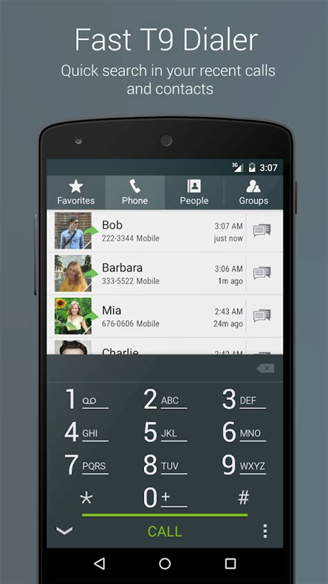 contact dialer apk true phone dialer contacts screenshot