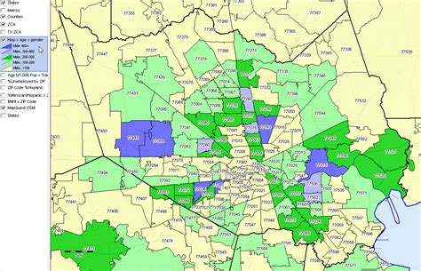 houston texas area code map houston map area codes