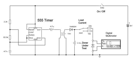 how to measure a zener diode voltage rating tester for zener diode eeweb community