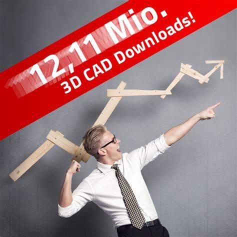 cadenas cad downloads rasanter zuwachs an 3d cad downloads von partcommunity news