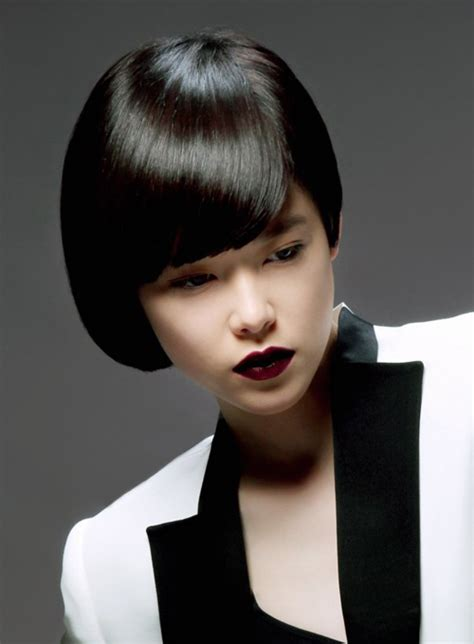 hairstyles for straight asian hair pictures of short straight haircuts 2012 2013 short