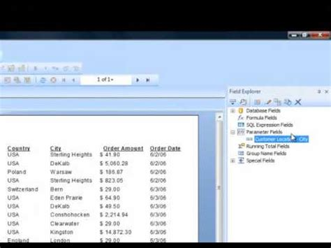 tutorial php reports 9 crystal report tutorial