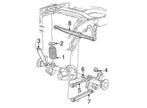 1999 Ford Expedition Parts Rear Suspension For 1999 Ford Expedition