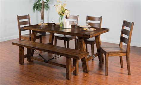 bench dining table ideas dining room top 10 vintage mahogany dining room set