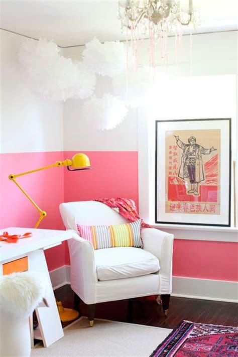 paredes pintadas a medias nueva tendencia en decoraci 243 n infantil