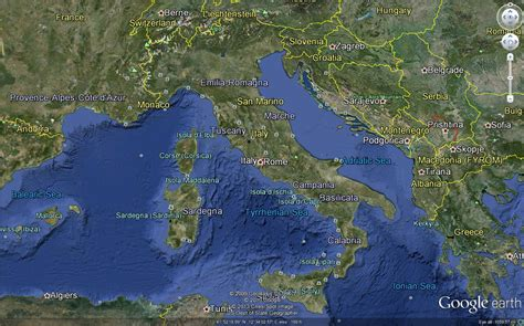 earth maps italy map earth images