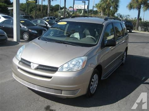 auto air conditioning repair 2004 toyota sienna parking system 2004 toyota sienna le for sale in ta florida classified americanlisted com