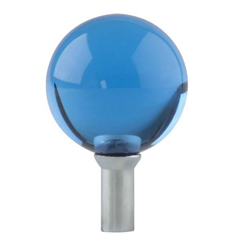 Faucet Knob by Bathroom Faucet Part Blue Glass Knob Lever 1 Handle