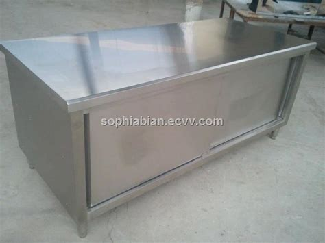 Industrial Stainless Steel Cabinets by Stainless Steel Commercial Kitchen Cabinets