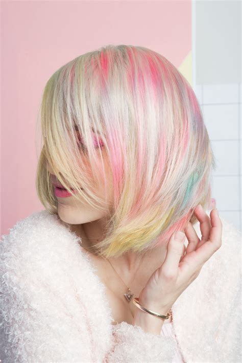 pastel rainbow hair pastel rainbow hair