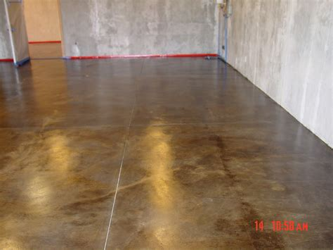 stained concrete for basement for the home