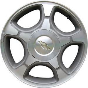 chevrolet trailblazer wheels rims wheel stock oem