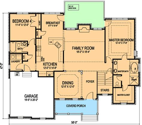 Extended Family House Plans | for the extended family and guests 30041rt