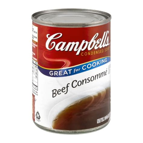 cbell s beef consomme condensed soup 10 5 oz prestofresh grocery delivery